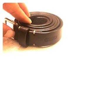 Brown Coach Belt